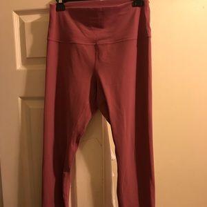 "Lululemon align pant 28"" size 10 in Merlot color"